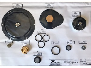 Комплект запасных частей на регулятор газа R70, R72