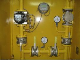 Узел учета газа УУГ-Itron-Delta-G100-80