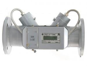 Ультразвуковой счетчик газа Курс-01-G400Б