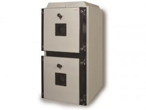 Промышленный сдвоенный котел Атон SAB Duos вертикального расположения