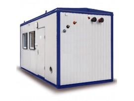 Твердотопливная котельная 200 кВт на котлах КВТ-100