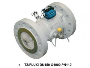 Турбинный счетчик объема газа TZ/Fluxi G100 DN80