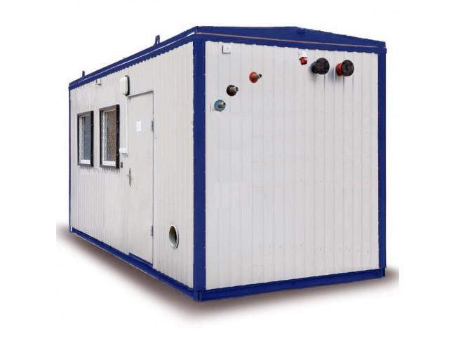 газо-дизельная модульная котельная 1260 квт