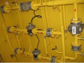 Газорегуляторный пункт с узлом учета газа ШГРП-1Б-P. Fiorentini-Fex75