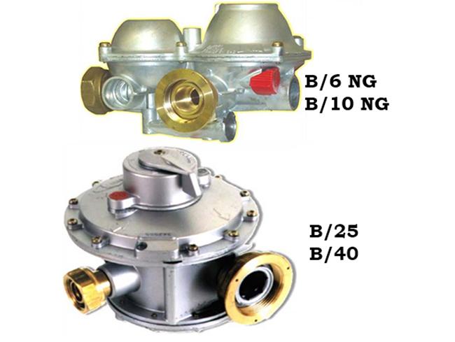 Регуляторы давления газа серии B/25 (Tartarini) Fisher