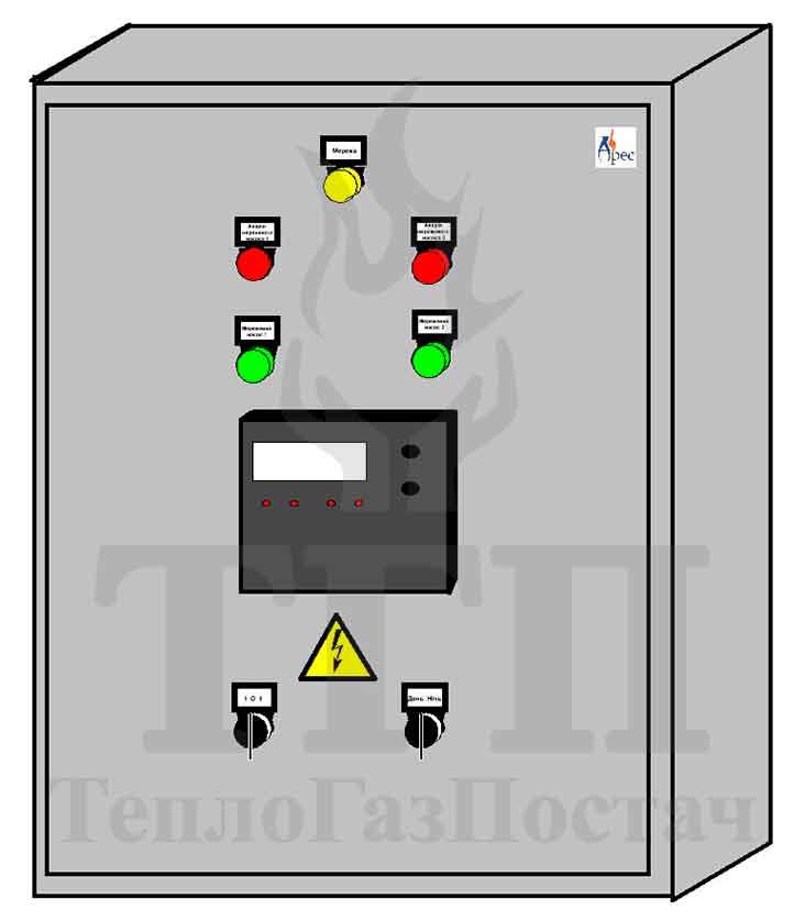 Автоматизация блочной газовой котельной КУМ-200-КТН-1.100СЕ-100