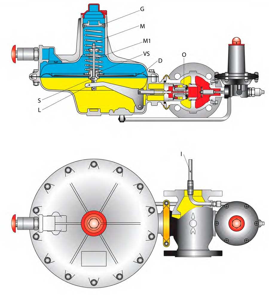 Устройство регулятора газа Tartarini A/149