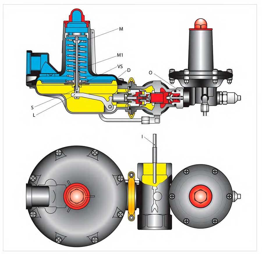 Устройство регулятора газа Tartarini B/249