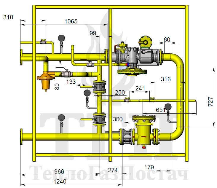 Схема ШРП-1Б-РДГ80
