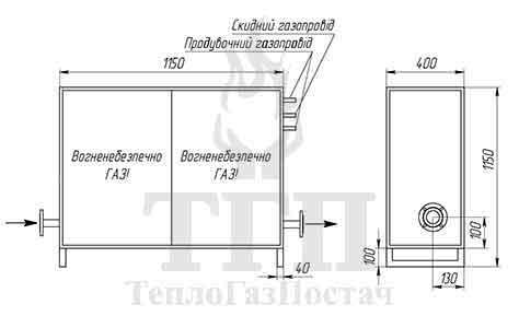 Схема принципиальная кинематическая ШГРП-1Б-Tartarini-R70-2