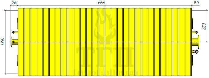 Габаритные размеры ШГРП-2Б-Itron-RBE-4022